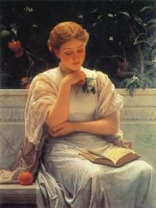 Girl Reading -Charles Edward Perugini