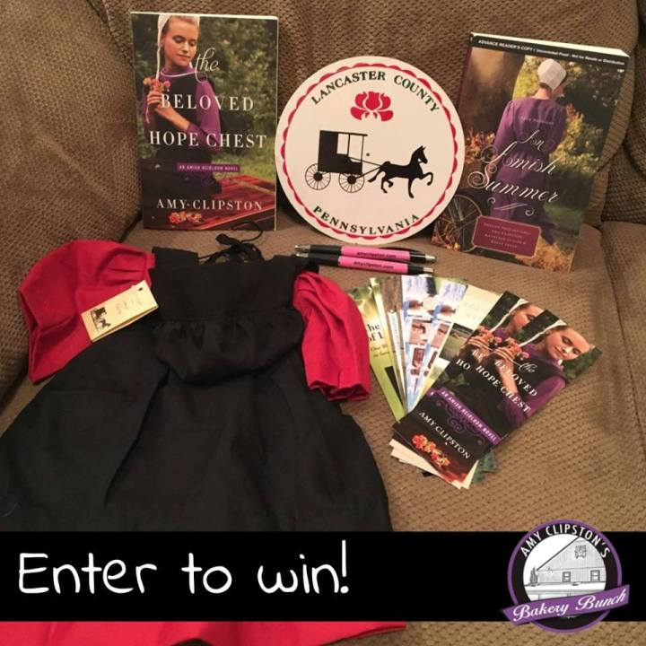 Amy Clipston May Giveaway