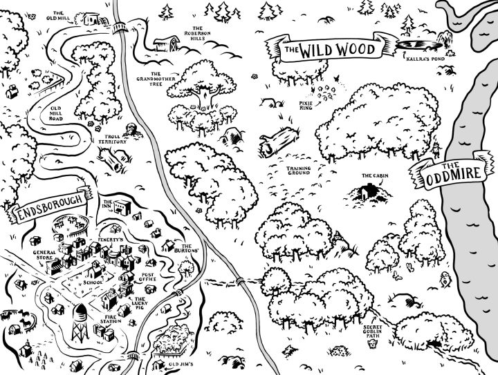 Oddmire MAP